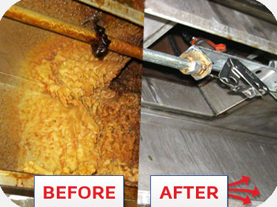 Restaurant-kitchen-exhaust-hood-cleaning nyc